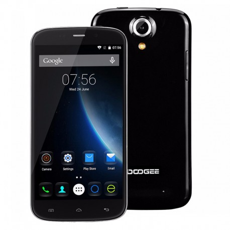 DOOGEE NOVA Y100X LTE 5.0 HD IPS 1GB RAM 8MPx ANDROID 5.0 LOLLIPOP KOLOR CZARNY
